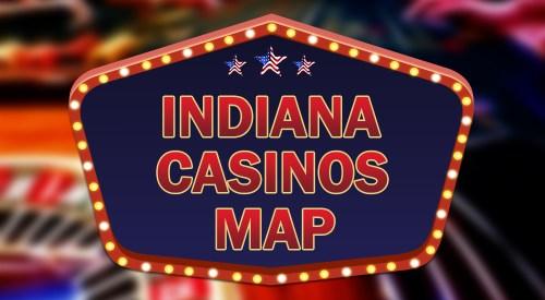 Indiana casinos map