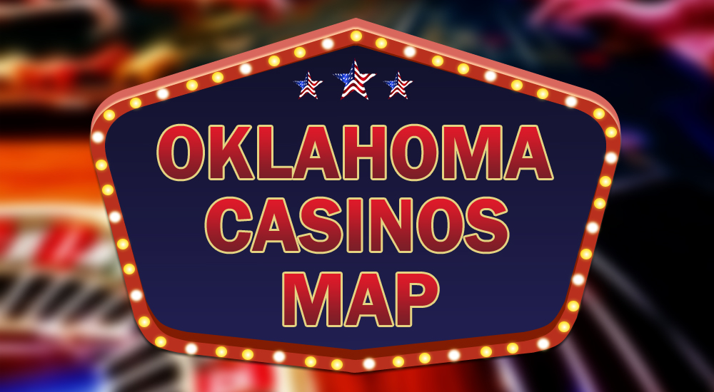 map of indian casinos in oklahoma