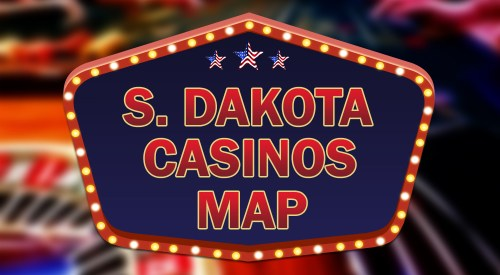 South Dakota casino map