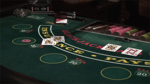 Blackjack table | American Casino Guide Book