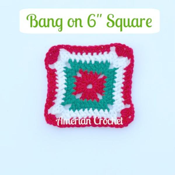 """Bang on 6"""" Square"""