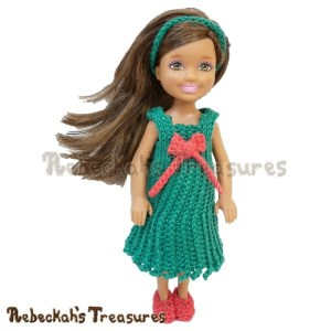 Festive Cheer Holiday Dress | Contributor Post | American Crochet @americancrochet.com