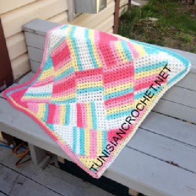 Tutti Frutti Baby Blanket