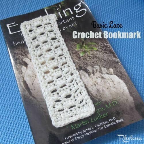 Basic Lace Crochet Bookmark | Free Crochet Pattern | American Crochet @americancrochet.com #freecrochetpattern #contributorpost