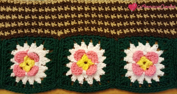 How to work solid rows | Crochet Tutorial | American Crochet @americancrochet.com #crochettutorial