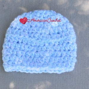 Baby Summer Cocoon Set | Free Crochet Pattern | American Crochet @americancrochet.com #freecrochetpattern