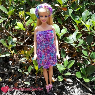 Bubble Berries Barbie Dress and Headband