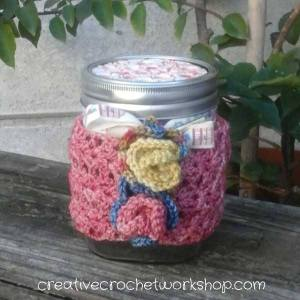 Strawberry Truffle Jar Cozy