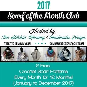 Scarf Club | Oombawka Design | The Stitchin Mommy