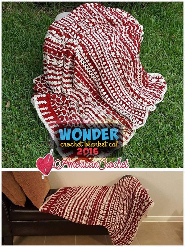 Wonder Crochet Blanket 2016 Crochet Along | Free Crochet Pattern | American Crochet @americancrochet.com #crochetalong #freecrochetpattern