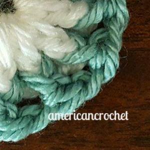 RUBY Circle in A Square   American Crochet @americancrochet.com