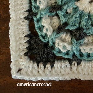 SUE Circle in A Square | American Crochet @americancrochet.com