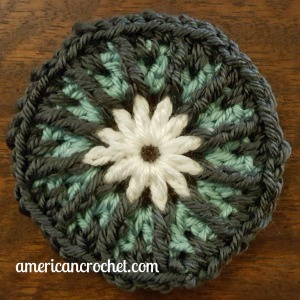 Abigial Circle in A Square | American Crochet @americancrochet.com