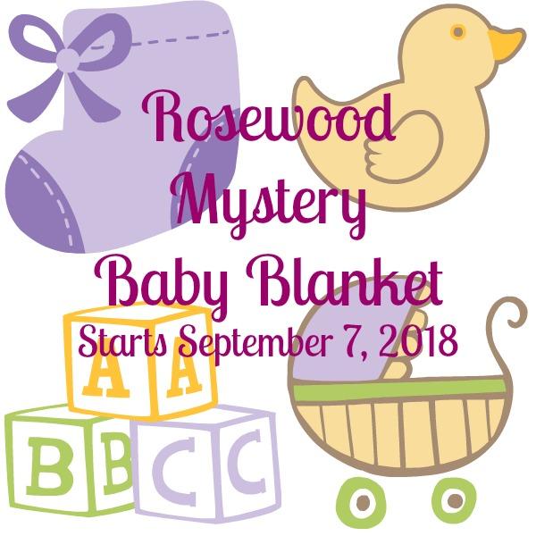 Rosewood Baby Blanket | American Crochet @americancrochet.com #crochetalong