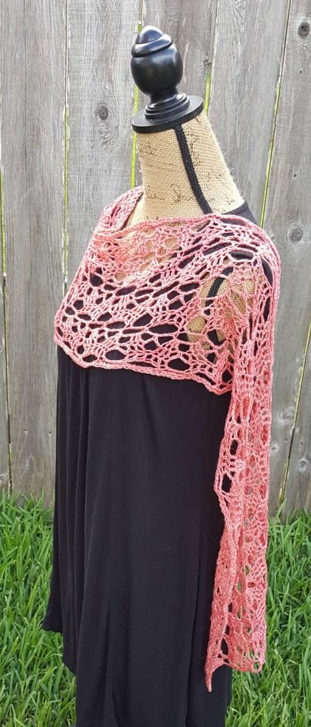 Amber Rose Wrap   Crochet Pattern   American Crochet @americancrochet.com
