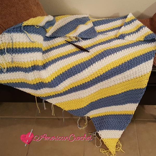 Special Memories Blanket Part Four | American Crochet @americancrochet.com #americancrochet #crochetalong