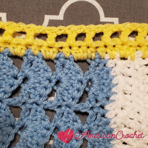 Winter Wonder Blanket Part Six | American Crochet @americancrochet.com #americancrochet #crochetalong
