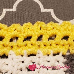 Winter Wonder Blanket Part Six   American Crochet @americancrochet.com #americancrochet #crochetalong