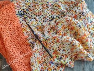 Laurel Hill Crochet Hook Review & Giveaway | Loving Life Scarf | American Crochet @americancrochet.com #giveaway