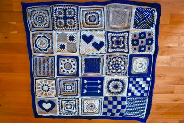 Wedding Blanket Crochet Along