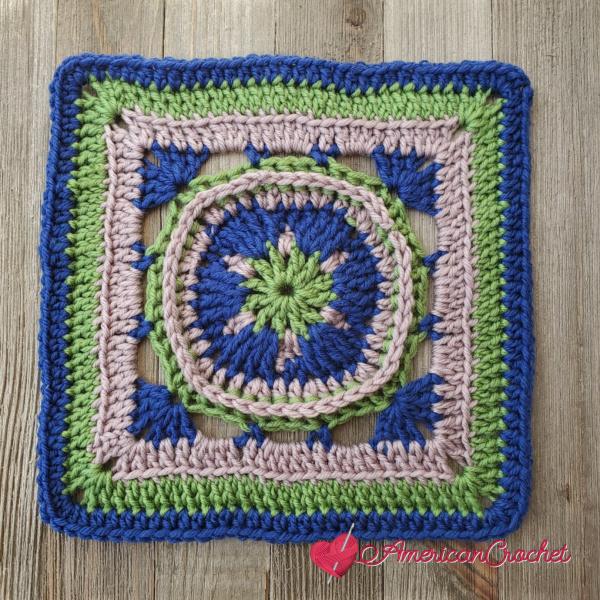 AC-RWS-CAL-Square Six | American Crochet @americancrochet.com #crochetalong