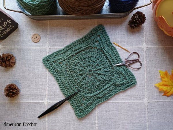 Durst Square   Crochet Pattern   American Crochet @americancrochet.com