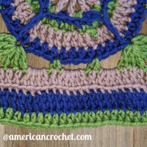 Acquaintance Square   American Crochet @americancrochet.com