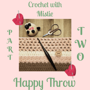 Happy Throw Part Two | American Crochet @americancrochet