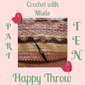Happy Throw Part Ten | American Crochet @americancrochet
