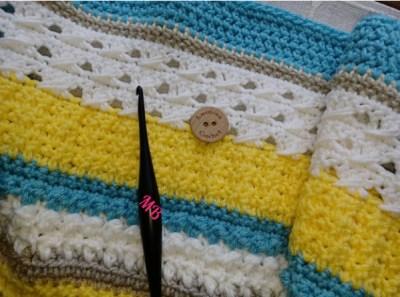 Happy Throw Two Part Nine   American Crochet @americancrochet