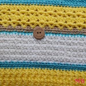 Happy Throw Two Part Three | American Crochet @americancrochet