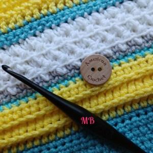 Happy Throw Two Part Twelve | American Crochet @americancrochet