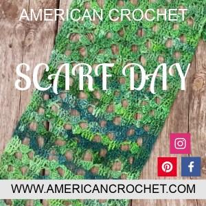 Scarf Day   American Crochet @americancrochet.com
