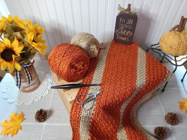 Happy Throw Three | Crochet Pattern | American Crochet @americancrochet.com