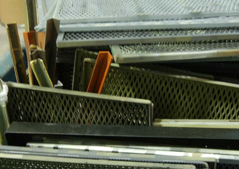 Industrial Screens that Need a good Cleaning