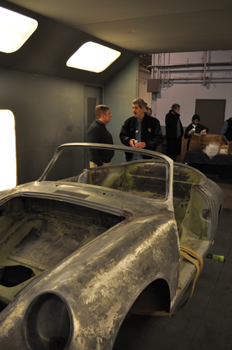 American Dry Stripping Porsche Work