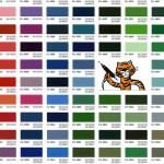 TIger Drylac Powder Coat Colors - sandblasting resources CT