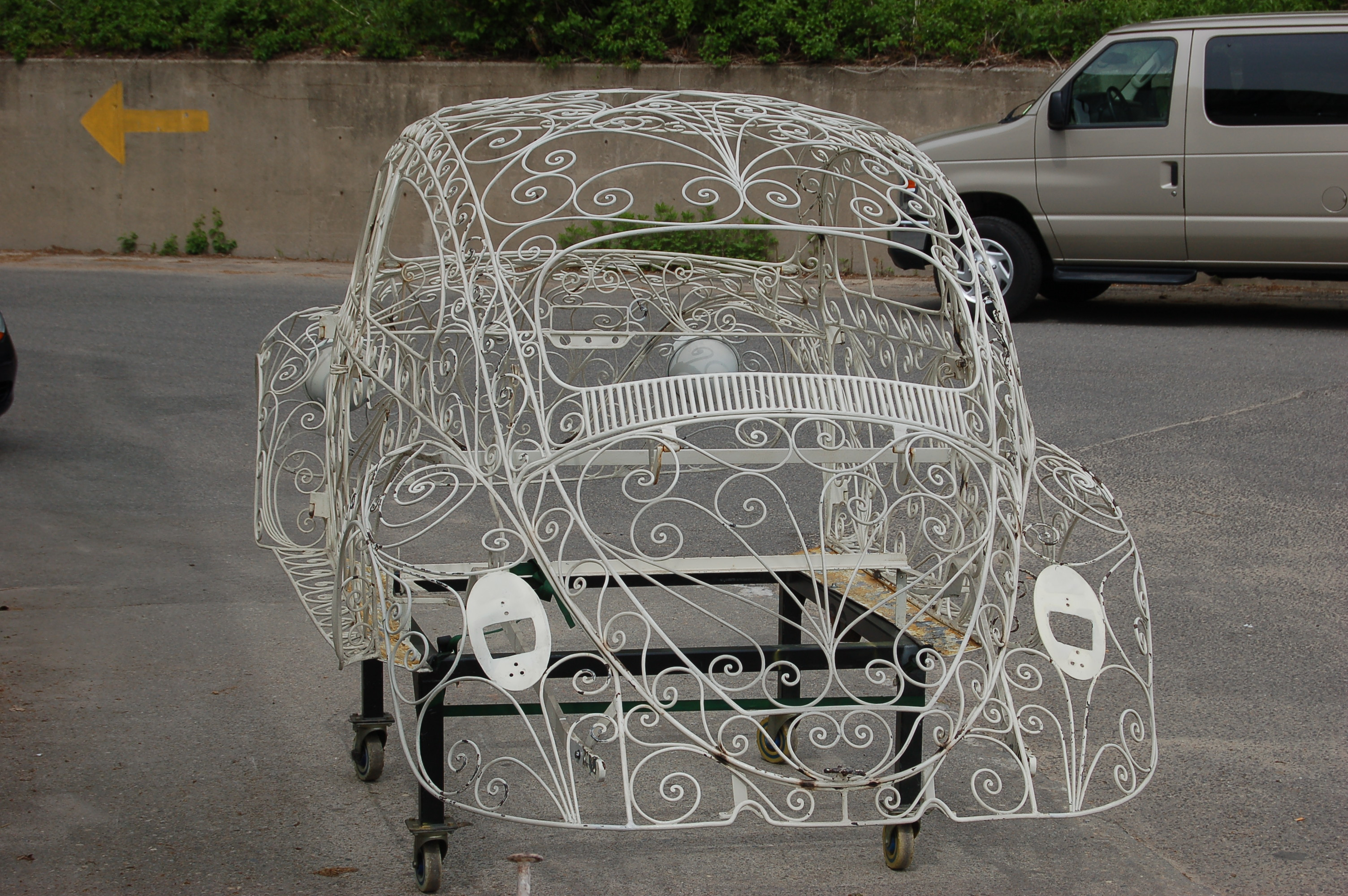 Wrought Iron VW Beetle at American Dry Stripping