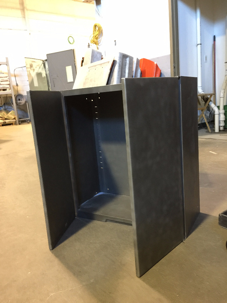 Vintage Metal Cabinets, ready for restoration