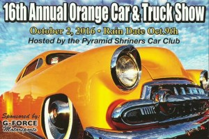 16th Annual Pyramid Shriners Car & Truck Show in Orange CT