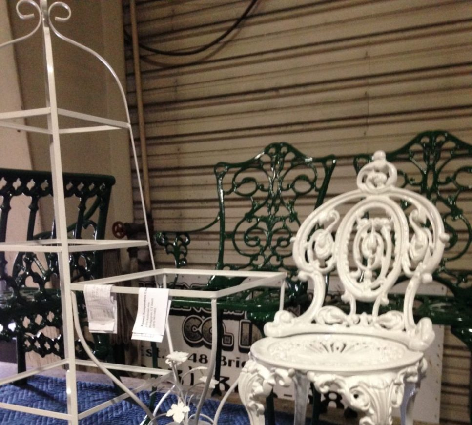 Refinish Outdoor furniture restore vintage patio furniture