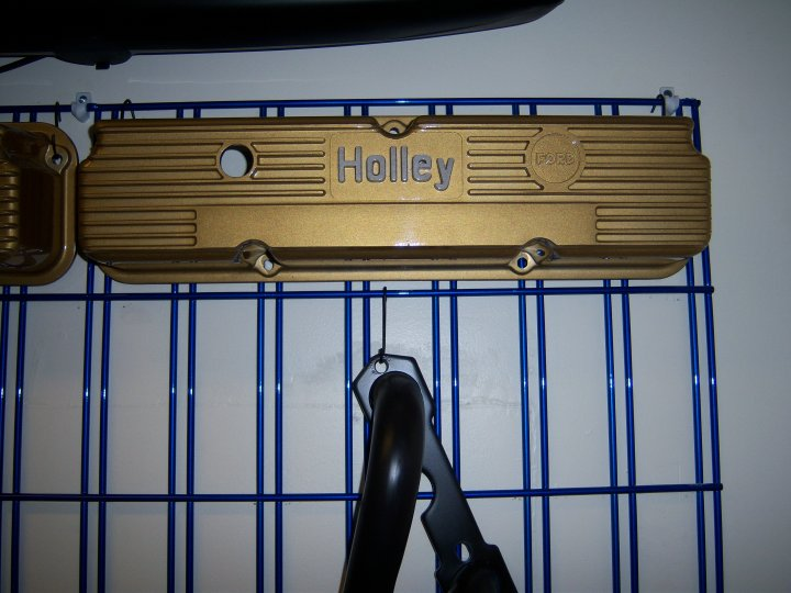 Holley Valve Cover Powder Coated - Xtreme Temperature Coatings CT