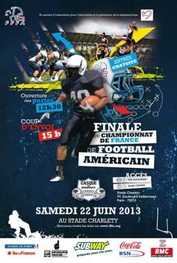 FFFA Championship: Flash de la Courneuve v. Thonon-les-bains Black Panthers