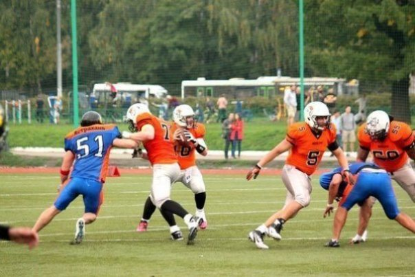 Moscow Patriots QB set to throw