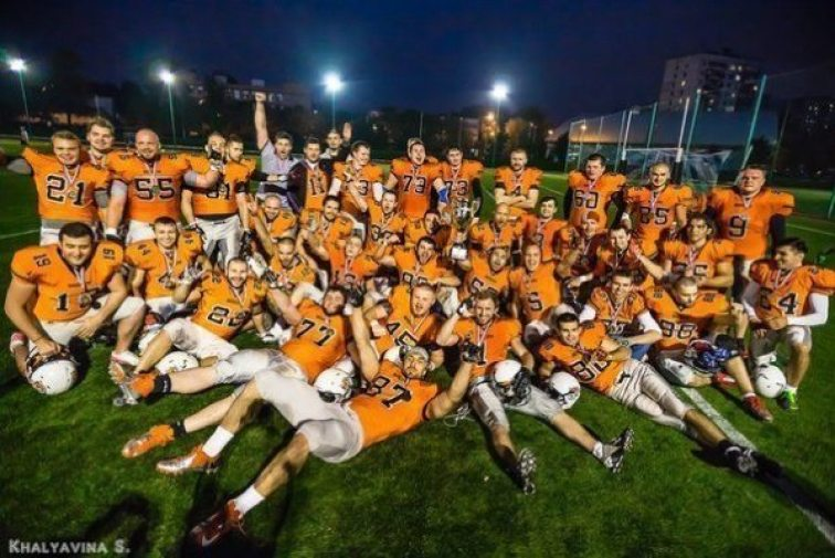 Moscow Patriots champions 2014