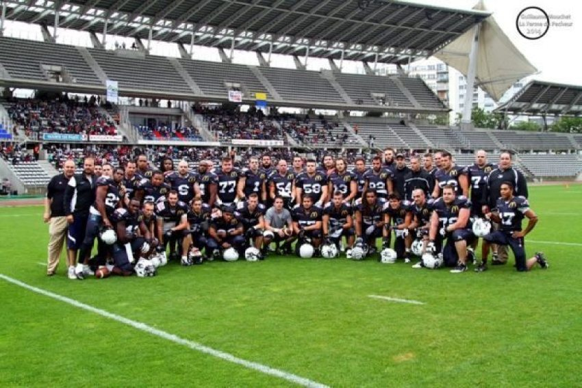 Thonon Black Panthers French champions