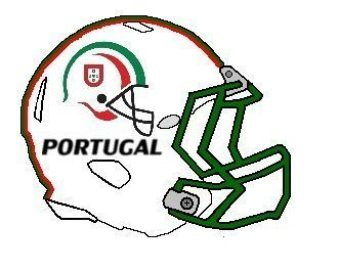 Portuguese helmet logo