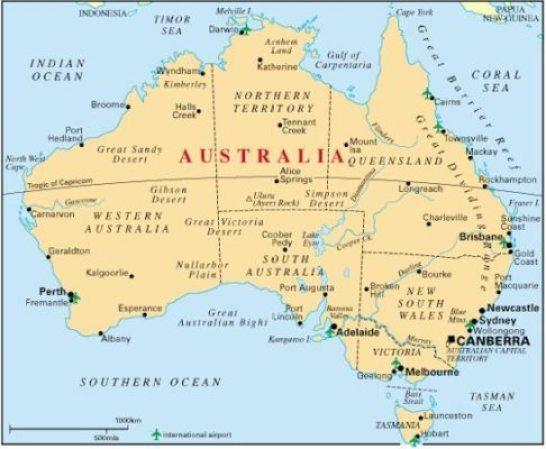 Australia - map2
