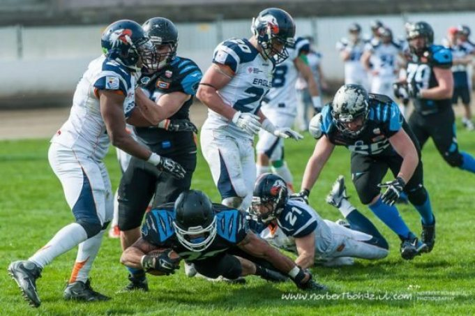 Poland - Wroclaw Panthers v Warsaw Eagles