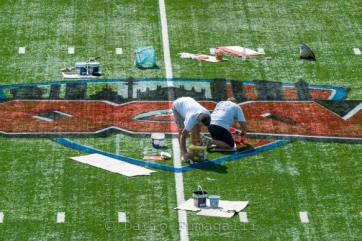 Italy - Super Bowl preparations